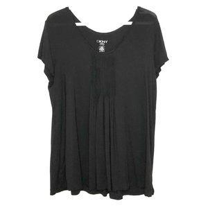 DKNY babydoll top. Size XL
